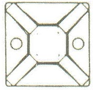 Product Image - Wire Tie Mounting Bases