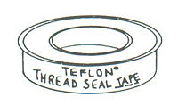Item Image - Teflon Pipe Thread Sealant Tape