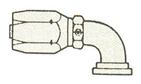 Item Image - Split Flange 90° Tube Elbow