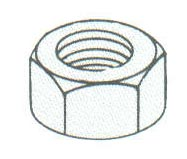 Product Image - Finished Hex Nuts